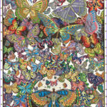 Artzone Coloring Posters Luxury Photography The Original Doodle Art Butterflies Adult Coloring Poster