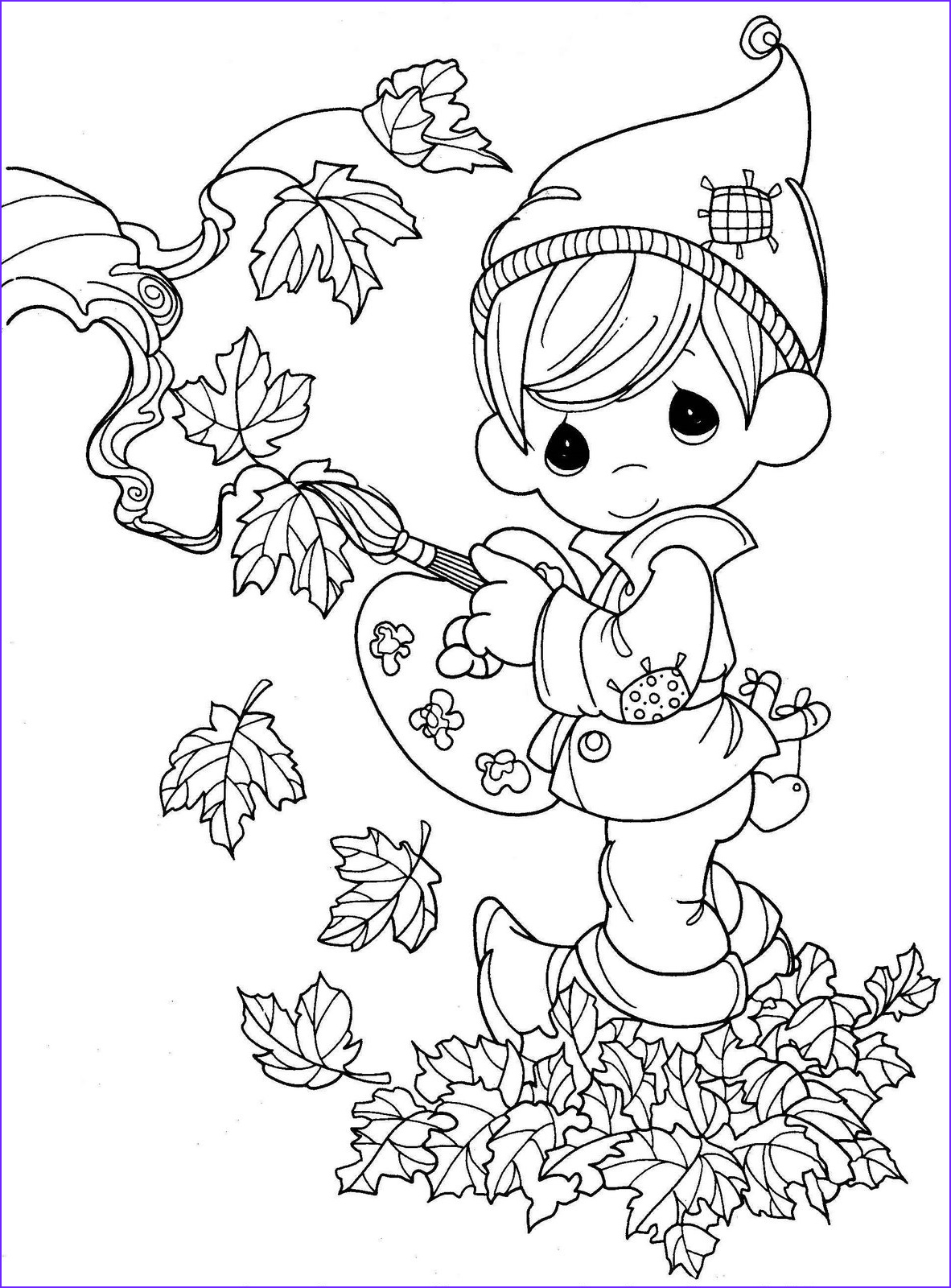 Autumn Coloring Sheets Elegant Photos Thanksgiving Coloring Pages