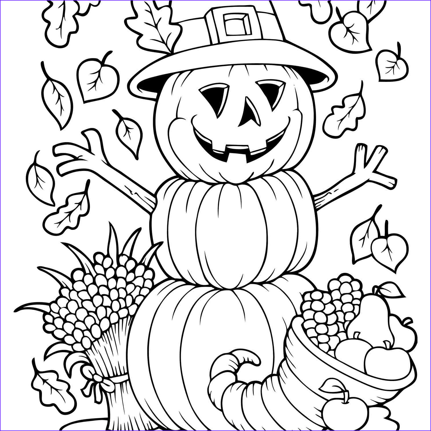 Autumn Coloring Sheets Unique Photography Free Autumn and Fall Coloring Pages