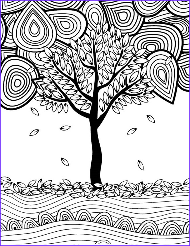 Autumn Coloring Sheets Unique Photos 12 Fall Coloring Pages for Adults Free Printables