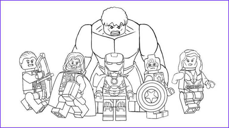 Avenger Coloring Pages Awesome Photos Avengers Coloring Pages