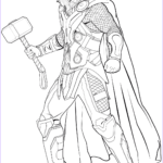 Avenger Coloring Pages New Image Avengers Thor Coloring Page