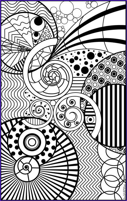 inspiraled coloring page