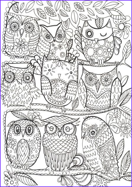 Awesome Coloring Books for Adults New Photos Fay Martin Owls Coloring Pages Pinterest