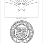 Az Coloring Pages Best Of Photos Arizona State Symbols Coloring Page