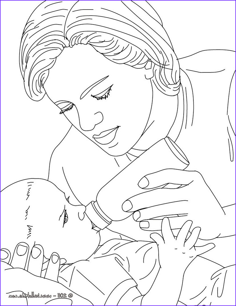 Baby Bottle Coloring Page New Photos Pediatric Nurse Bottle Feeding A New Born Baby Coloring