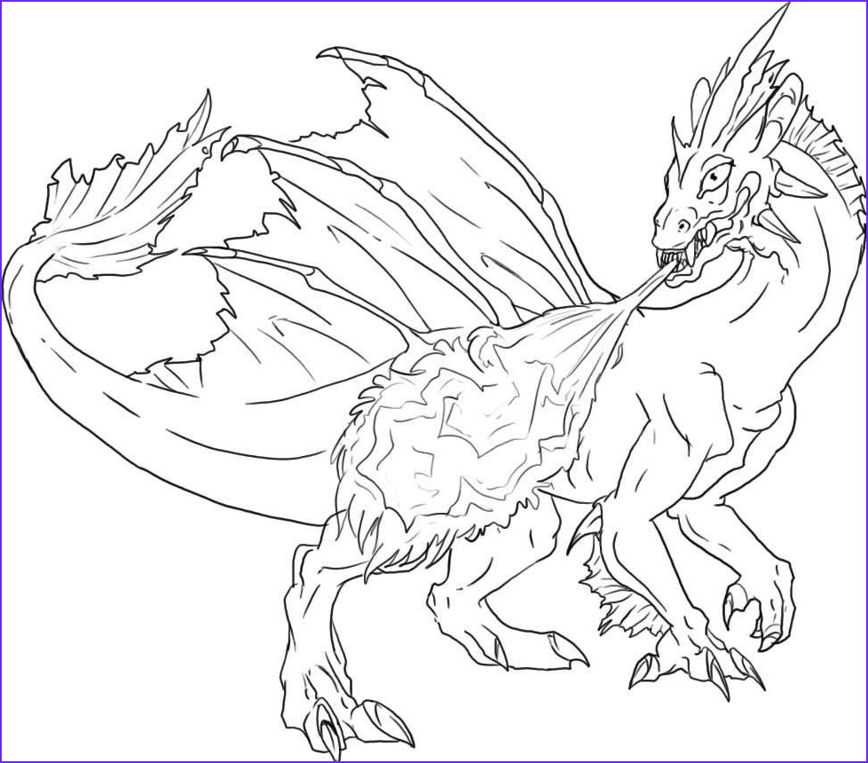 baby dragon flying coloring page