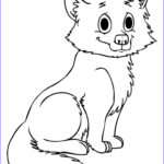 Baby Fox Coloring Page Beautiful Collection Free Printable Fox Coloring Pages For Kids