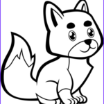 Baby Fox Coloring Page Best Of Photos Cute Baby Fox Coloring Pages