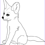Baby Fox Coloring Page Cool Image Fox Energy Free Coloring Pages