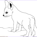 Baby Fox Coloring Page Inspirational Photos Cute Baby Fox Coloring Page Free Fox Coloring Pages