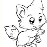 Baby Fox Coloring Page Unique Photography Cute Baby Fox Coloring Pages Coloring Home