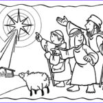 Baby Jesus Coloring Sheet Awesome Photos Shepherds See The Star