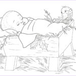 Baby Jesus Coloring Sheet Beautiful Photos Baby Jesus In A Manger Coloring Page