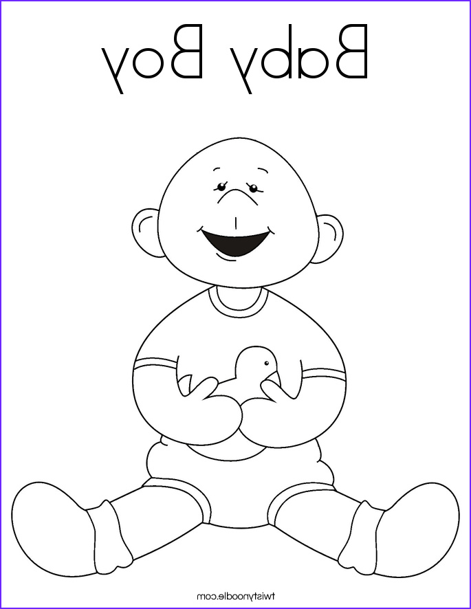 Baby Shower Coloring Beautiful Collection Free Printable Baby Shower Coloring Pages Coloring Home