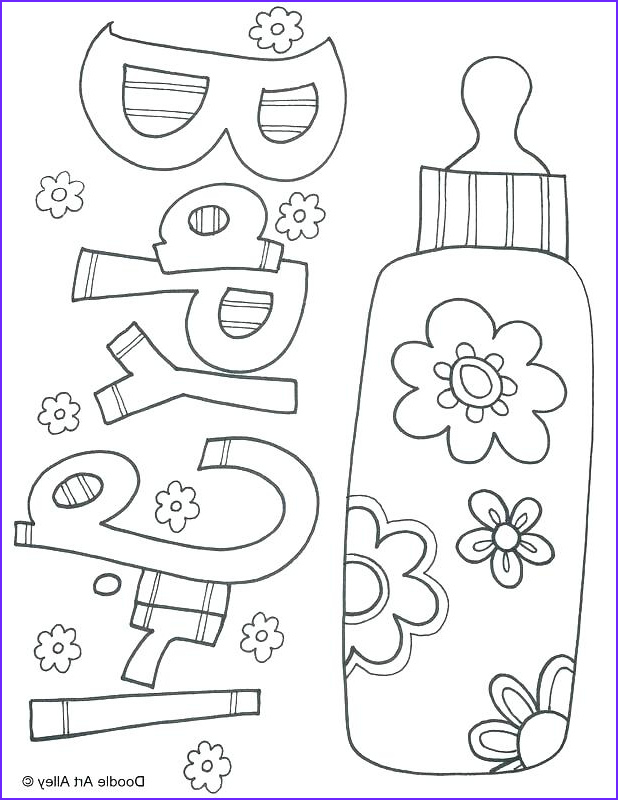 Baby Shower Coloring Cool Photos Baby Shower Coloring Pages Printables at Getcolorings