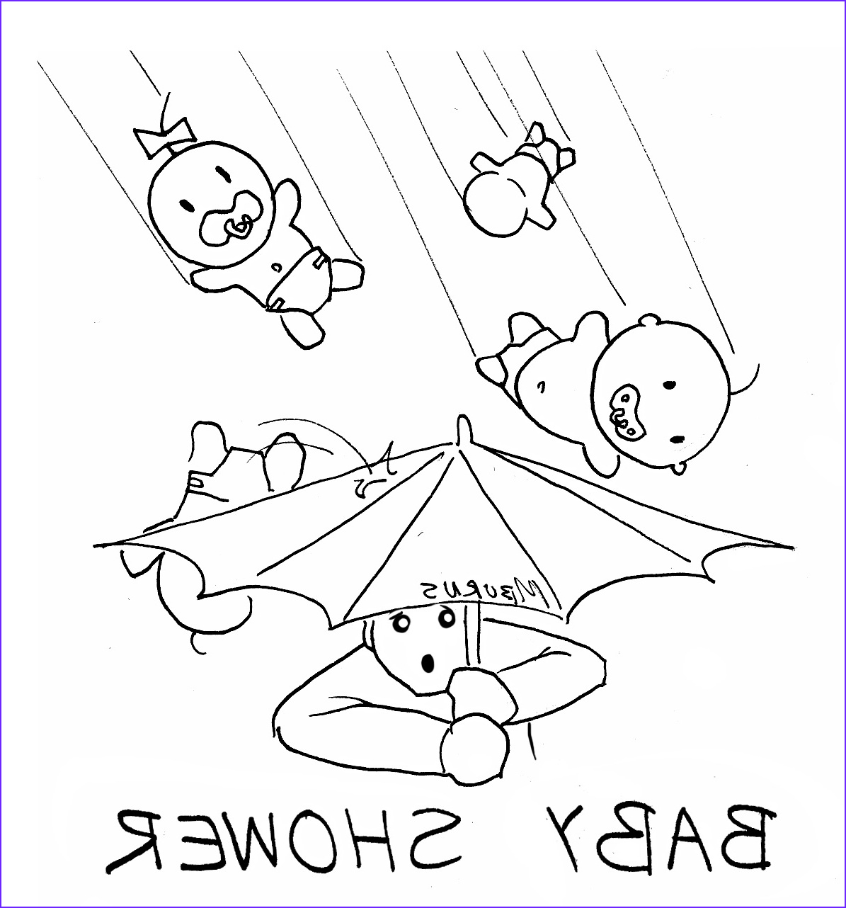 """Baby Shower Coloring Inspirational Photos """" Ic Strip"""" by Mike Burns Baby Shower Teleport"""