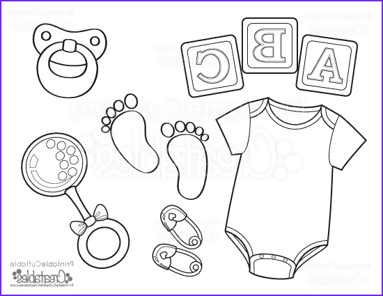 Baby Shower Coloring Luxury Gallery Baby Esie Free Printable Coloring Page