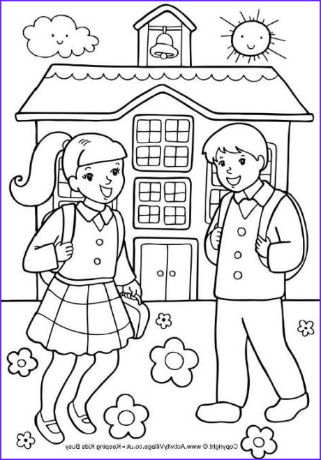 Back to School Coloring Pages Beautiful Collection Back to School Coloring Sheets