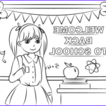 Back To School Coloring Pages Free Printables Beautiful Gallery Wel E Back To School Coloring Page
