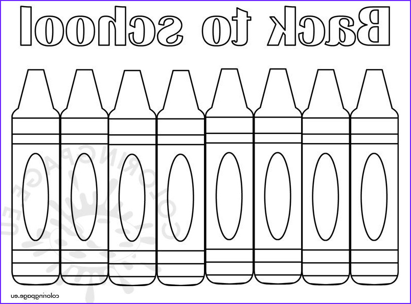 back school coloring page free printable