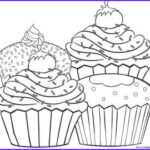 Baking Coloring Pages Awesome Stock Free Printable Cupcake Coloring Pages For Kids