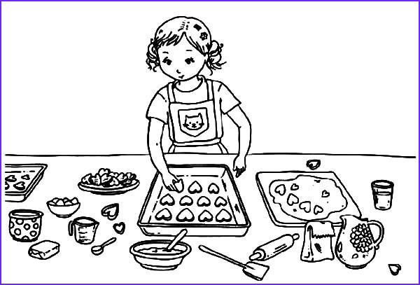 Baking Coloring Pages Beautiful Photography Cookie Coloring Pages Best Coloring Pages for Kids