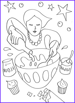 Baking Coloring Pages Beautiful Stock People Coloring Pages Mr Printables