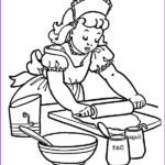 Baking Coloring Pages Cool Collection How To Baking Cookies Coloring Pages Best Place To Color
