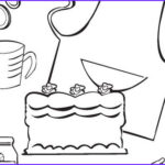 Baking Coloring Pages Luxury Images Cooking And Baking Coloring Pages – Birthday Printable