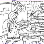Baking Coloring Pages Luxury Stock Download Line Coloring Pages For Free Part 36
