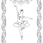 Ballerina Coloring Pages Awesome Collection Free Printable Ballet Coloring Pages For Kids