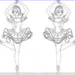 Ballerina Coloring Pages Best Of Collection 20 Free Printable Ballerina Coloring Pages