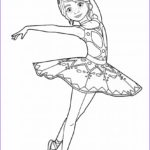 Ballerina Coloring Pages Inspirational Collection Félicie Milliner From Ballerina Movie Coloring Page