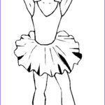 Ballerina Coloring Pages Inspirational Gallery Ballerina Coloring Pages For Childrens Printable For Free