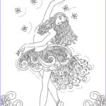 Ballerina Coloring Pages Unique Image Free Printable Ballet Coloring Pages For Kids