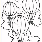 Balloon Coloring Pages Awesome Photos Free Printable Hot Air Balloon Coloring Pages For Kids