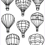 Balloon Coloring Pages Beautiful Image All Air Balloon Coloring Page