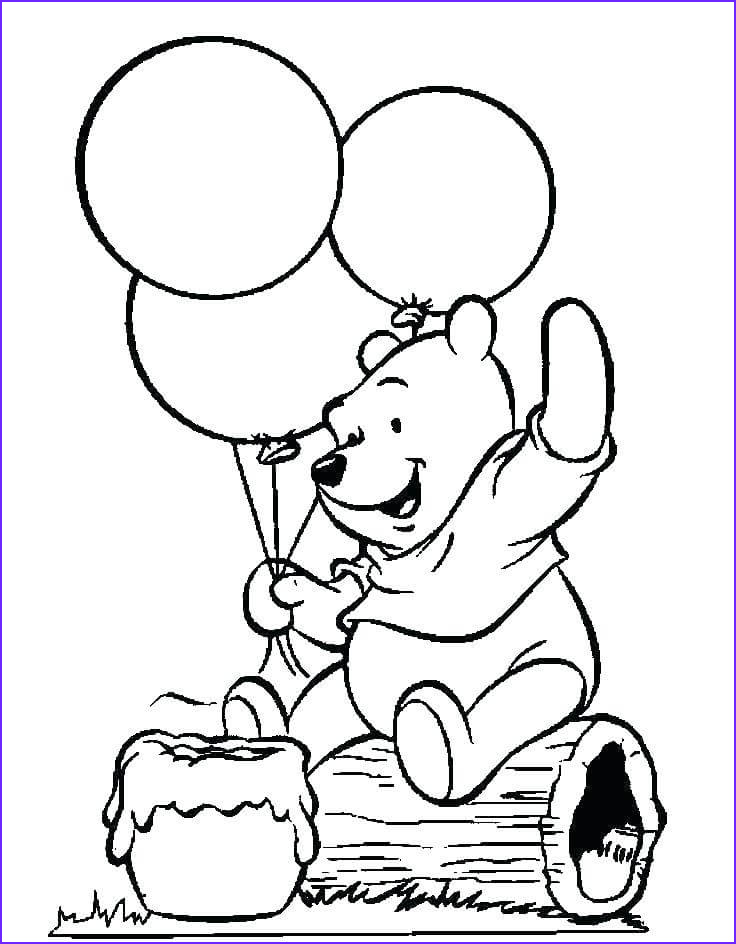 Balloon Coloring Pages Beautiful Photos Printable Balloons Coloring Pages for Kids