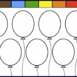 Balloon Coloring Pages Best Of Photos Learn Colors For Kids And Color This Balloon Coloring Page