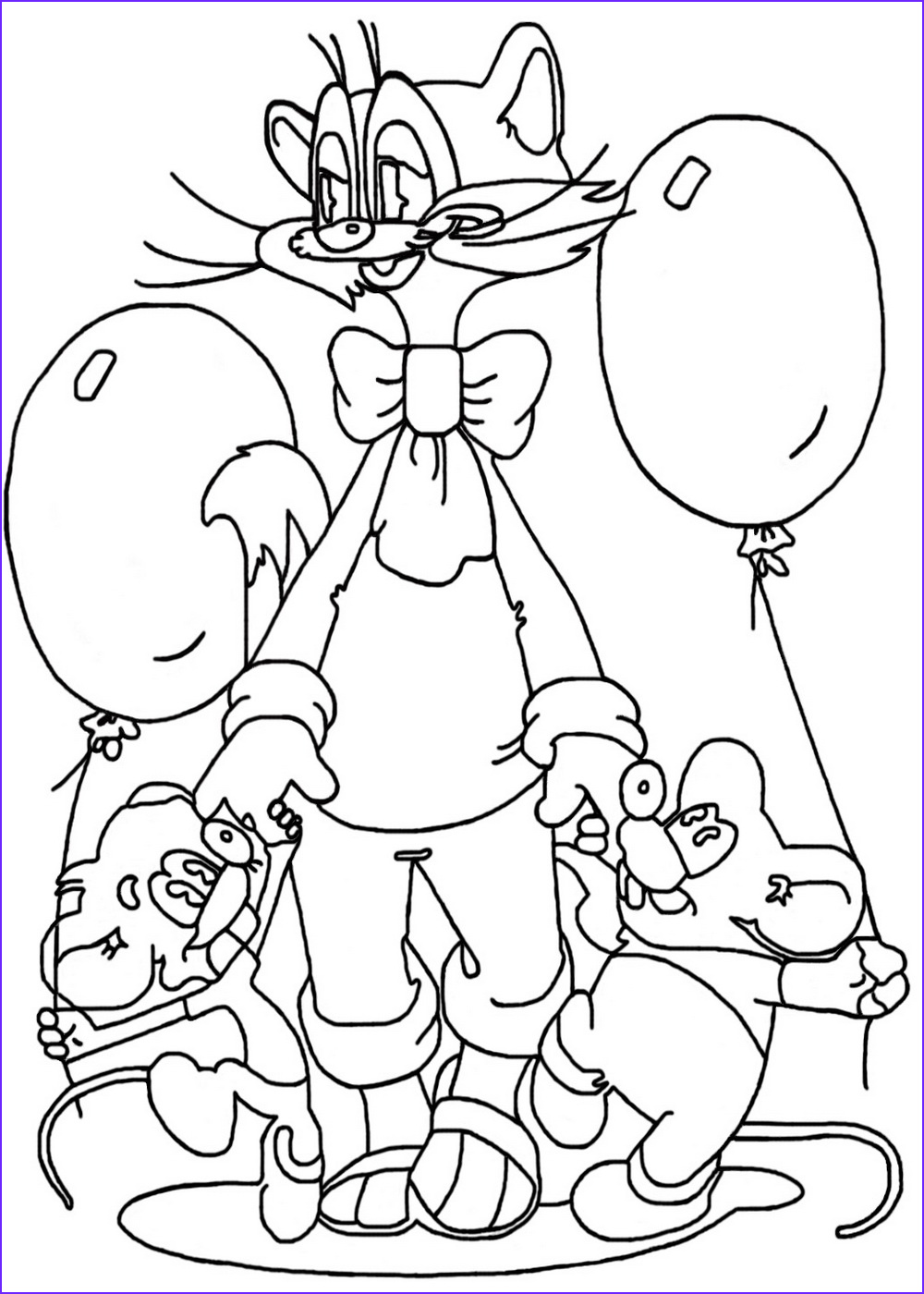 Balloon Coloring Pages Cool Photos Balloon Coloring Pages for Kids to Print for Free