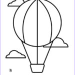 Balloon Coloring Pages Inspirational Image Hot Air Balloon Coloring Pages Hellokids