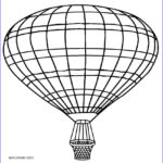 Balloon Coloring Pages New Image Printable Hot Air Balloon Coloring Pages For Kids