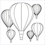 Balloon Coloring Pages New Photos A School Of Fish Hot Air Balloon Unit