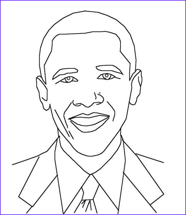 Barack Obama Coloring Pages Awesome Stock Coloring Pictures Of Barack Obama