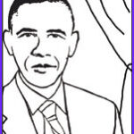 Barack Obama Coloring Pages Beautiful Gallery President Coloring Pages