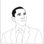 Barack Obama Coloring Pages Best Of Collection President Barack Obama Coloring Page