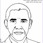 Barack Obama Coloring Pages Cool Photos Easy Barack Obama Coloring Pages
