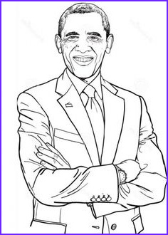 Barack Obama Coloring Pages Luxury Gallery Barack Obama Coloring Pages and Coloring On Pinterest