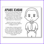 Barack Obama Coloring Pages New Collection President Barack Obama Coloring Page Craft Or Poster With